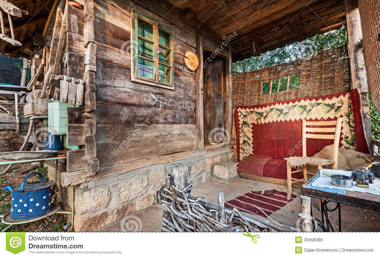 Wooden house royalty free stock photo image 33406385 - Houses made from natural materials ...