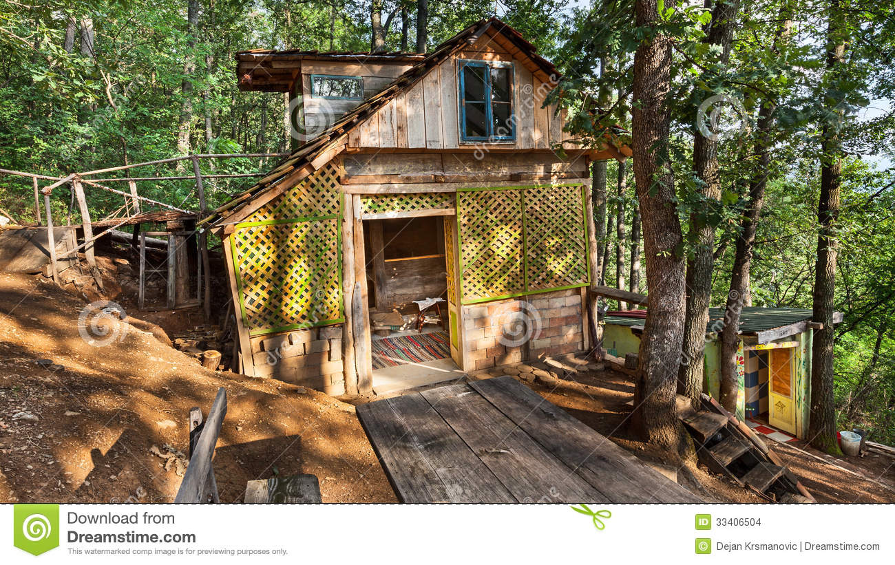 Wooden house stock images image 33406504 - Houses made from natural materials ...