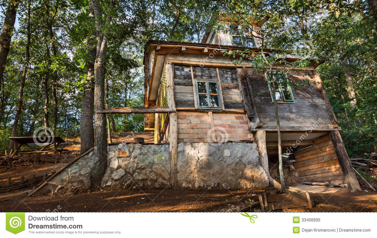 Wooden house royalty free stock photo image 33406695 - Houses made from natural materials ...