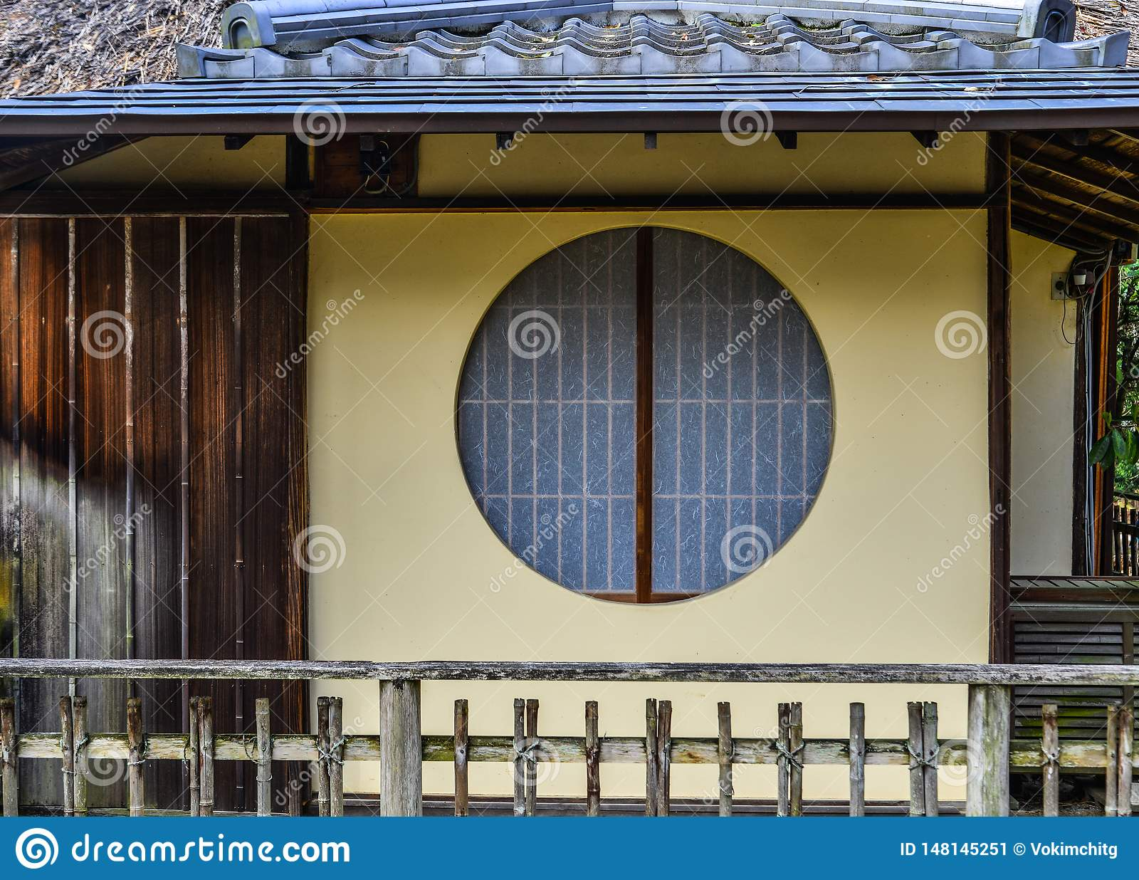 Wooden house in Kyoto, Japan