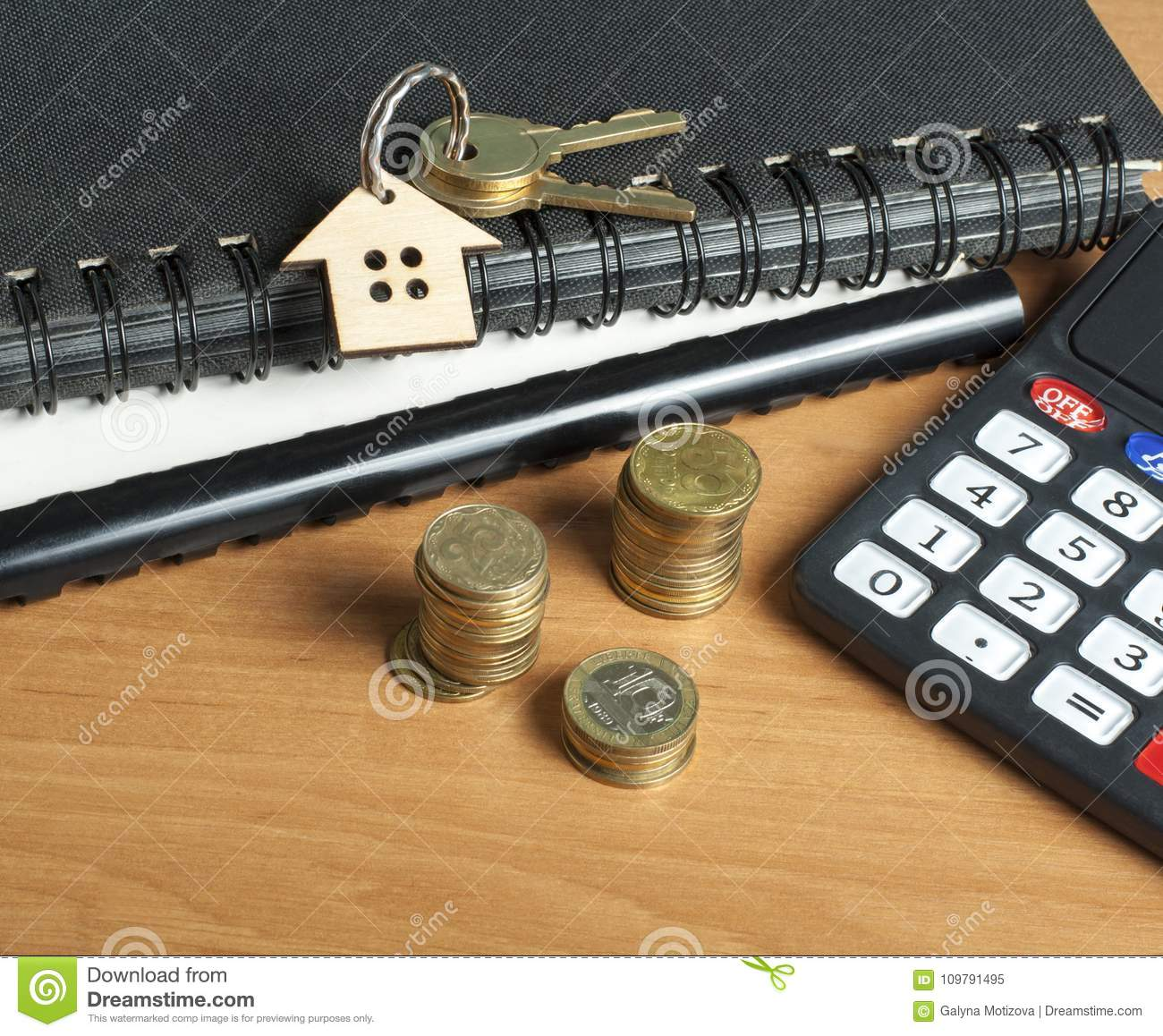 Home Savings, Budget, Financial And Property Concept