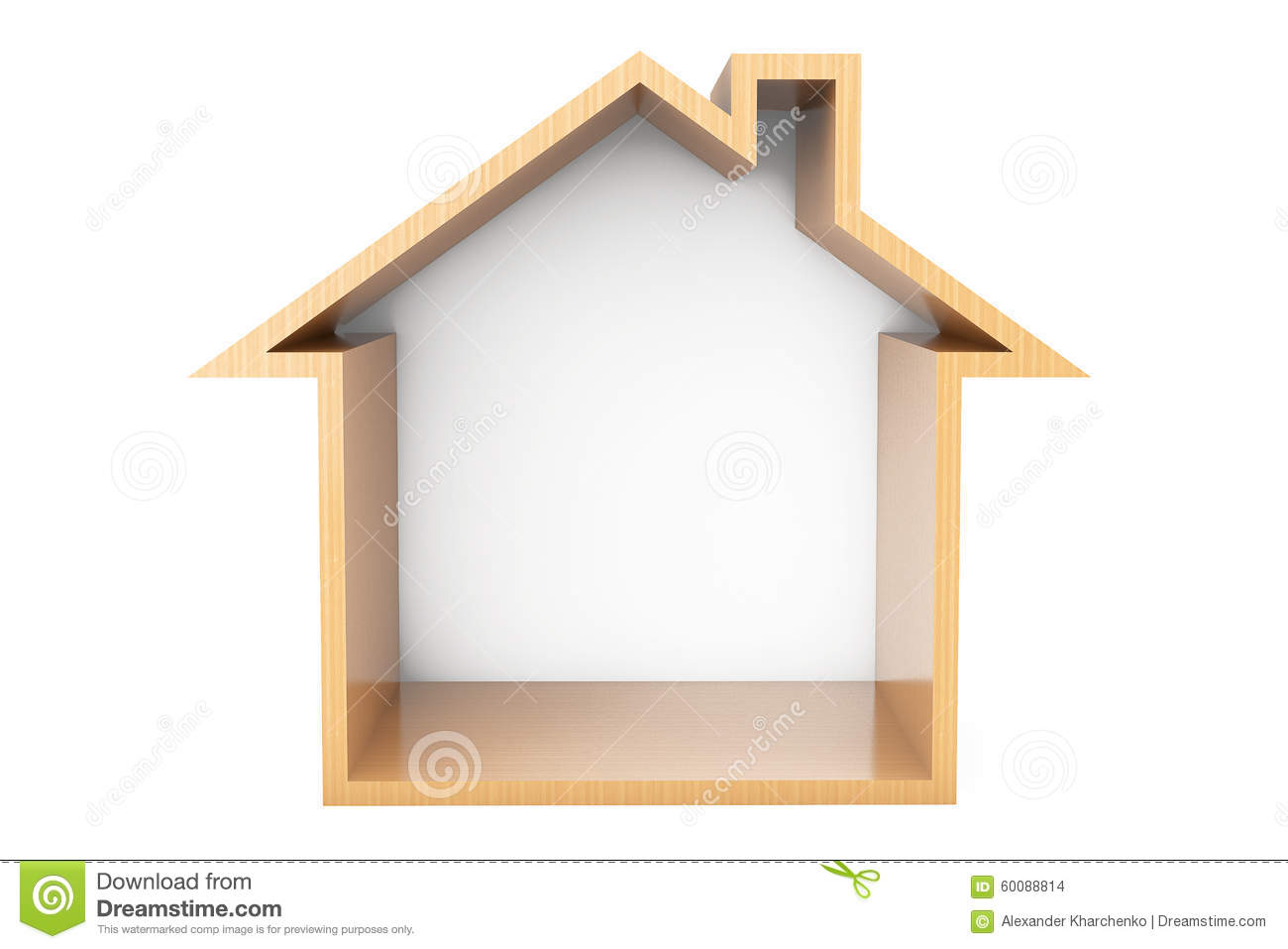House outline picture - Picture Of A House Outline