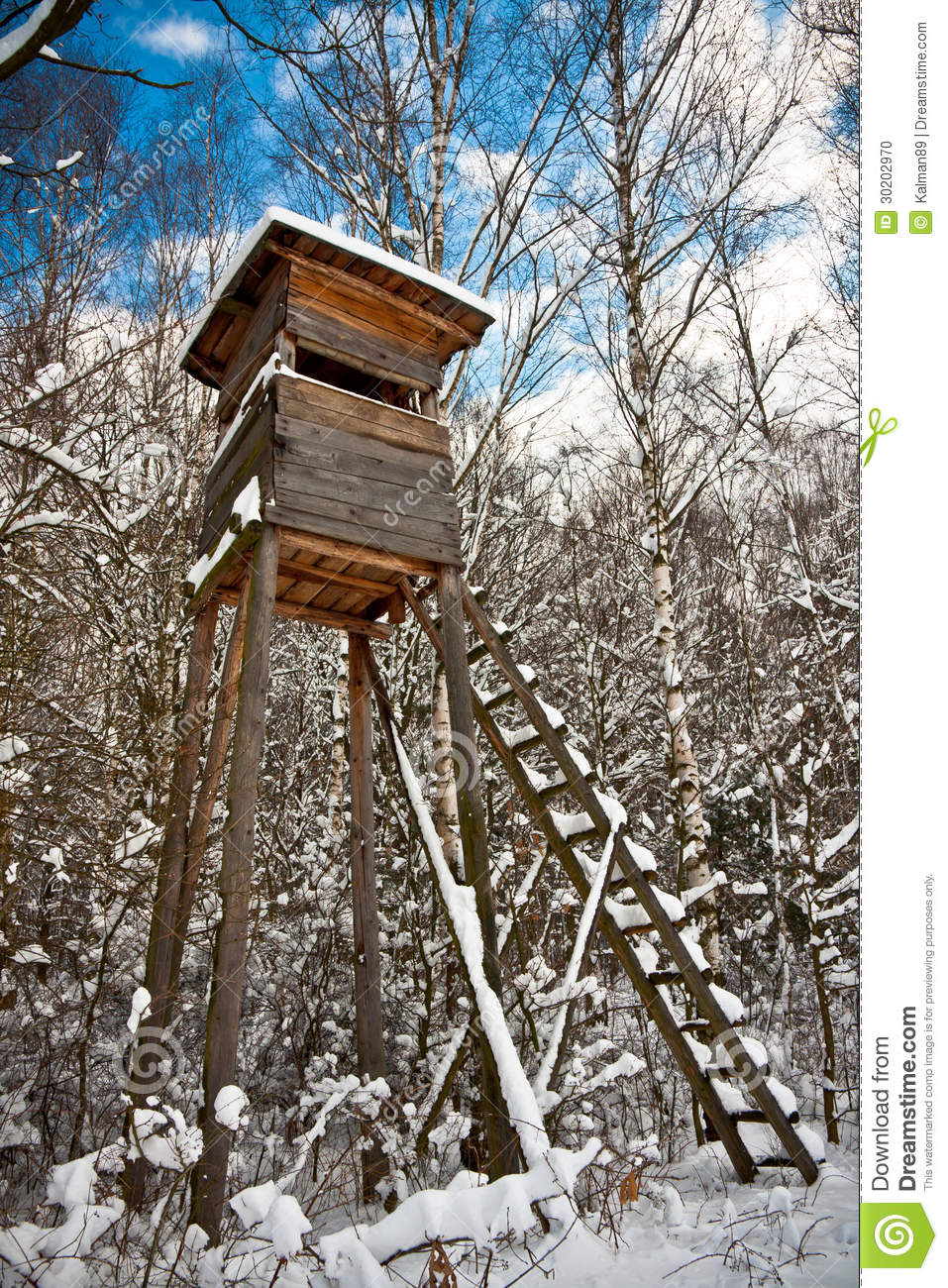 Hunting Tower Stock Photo Image 30202970
