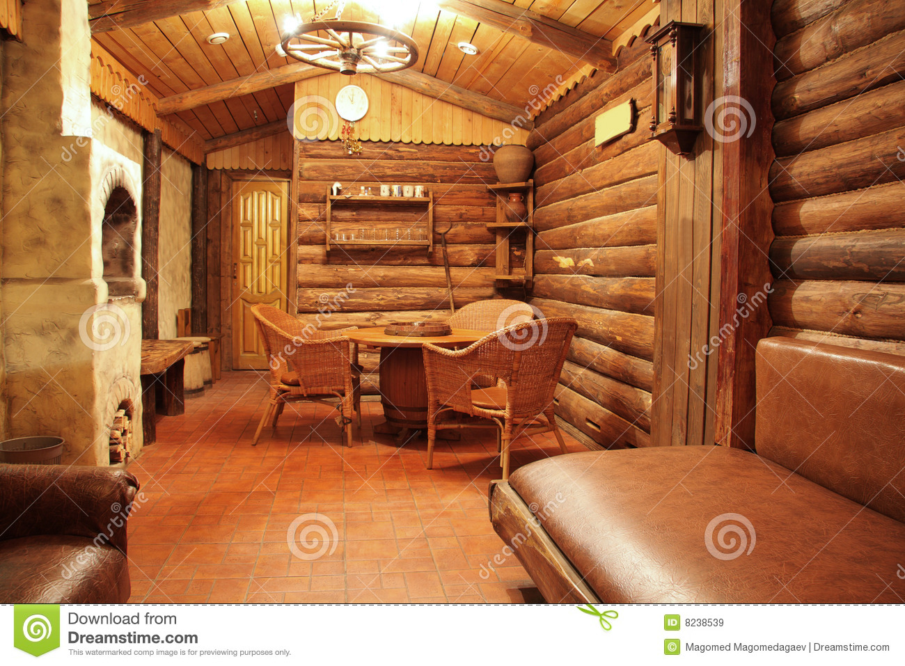 Wooden interior stock image image of house nobody Wooden interior