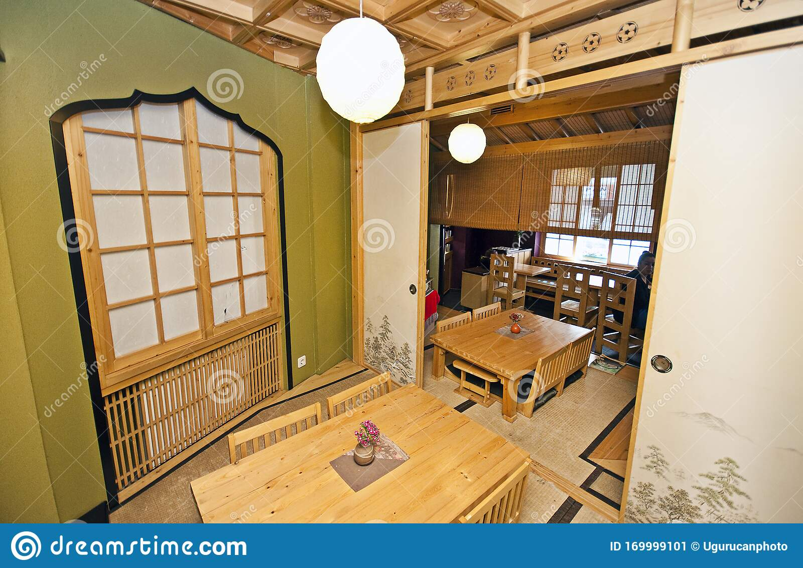 Traditional Japanese Restaurant Interior And Design Editorial Photo Image Of Delicious Decor 169999101