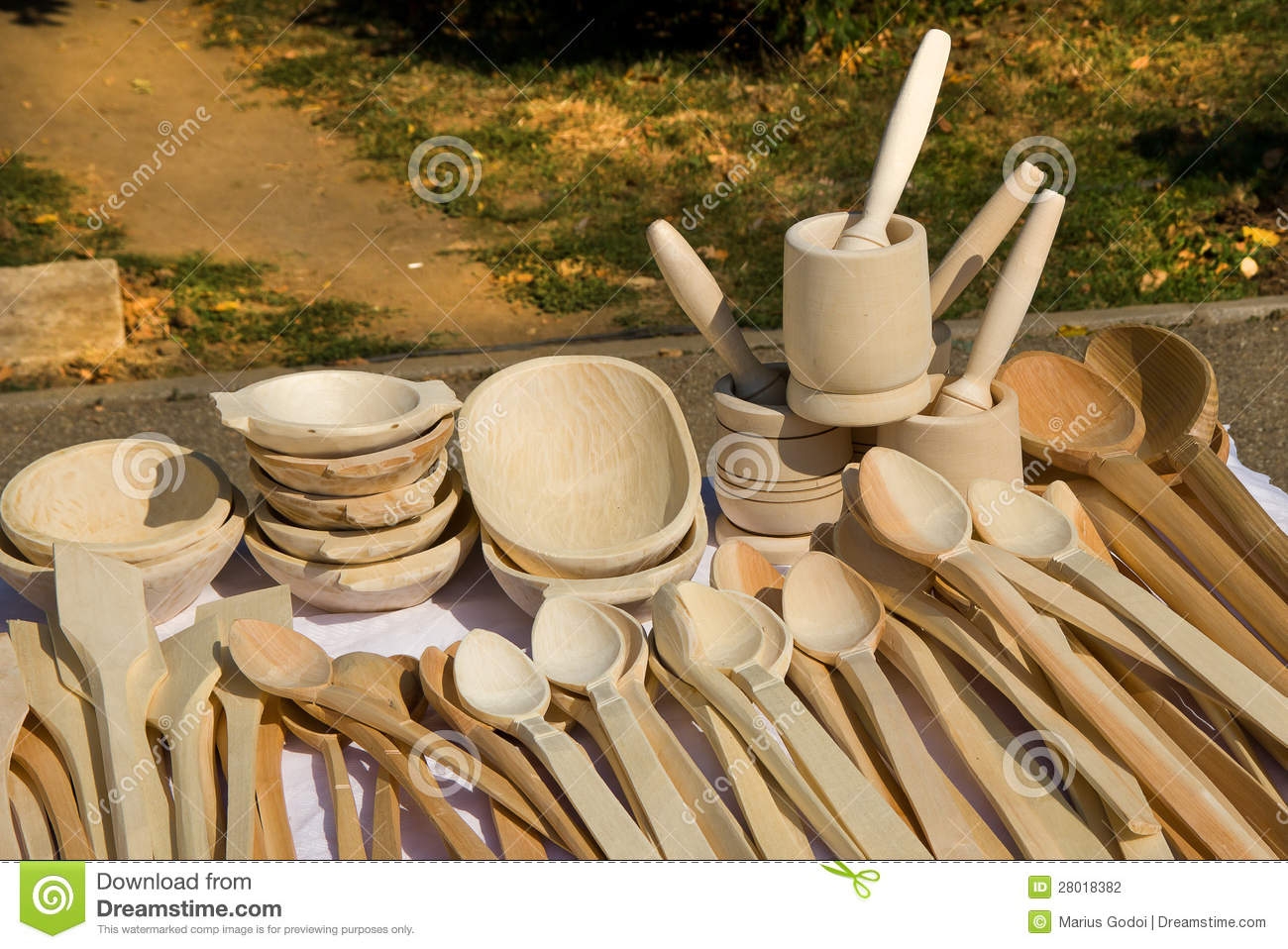 Wooden Kitchen Objects Stock Photography Image 28018382
