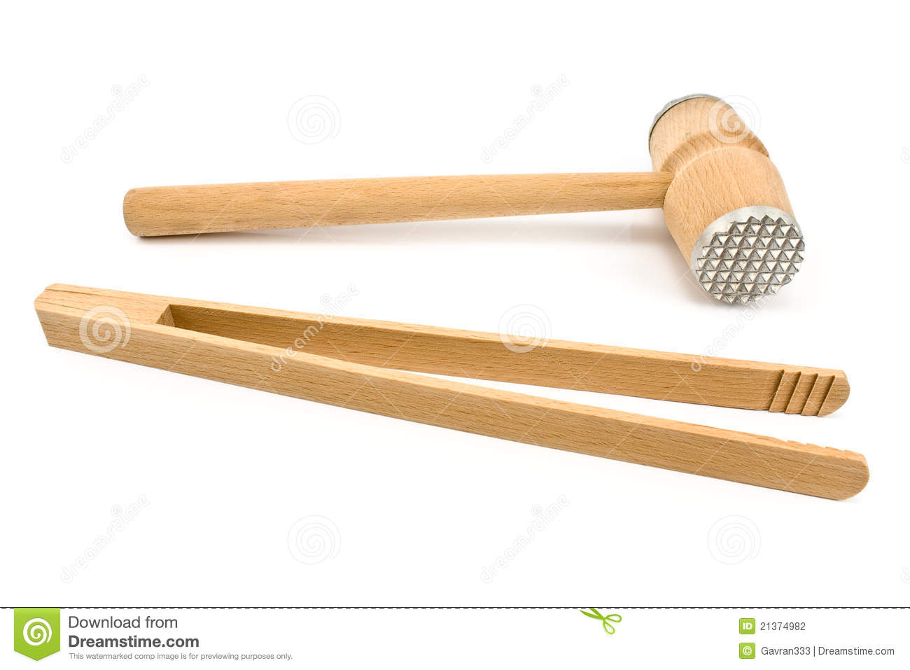 wooden kitchen tools stock photography image 21374982
