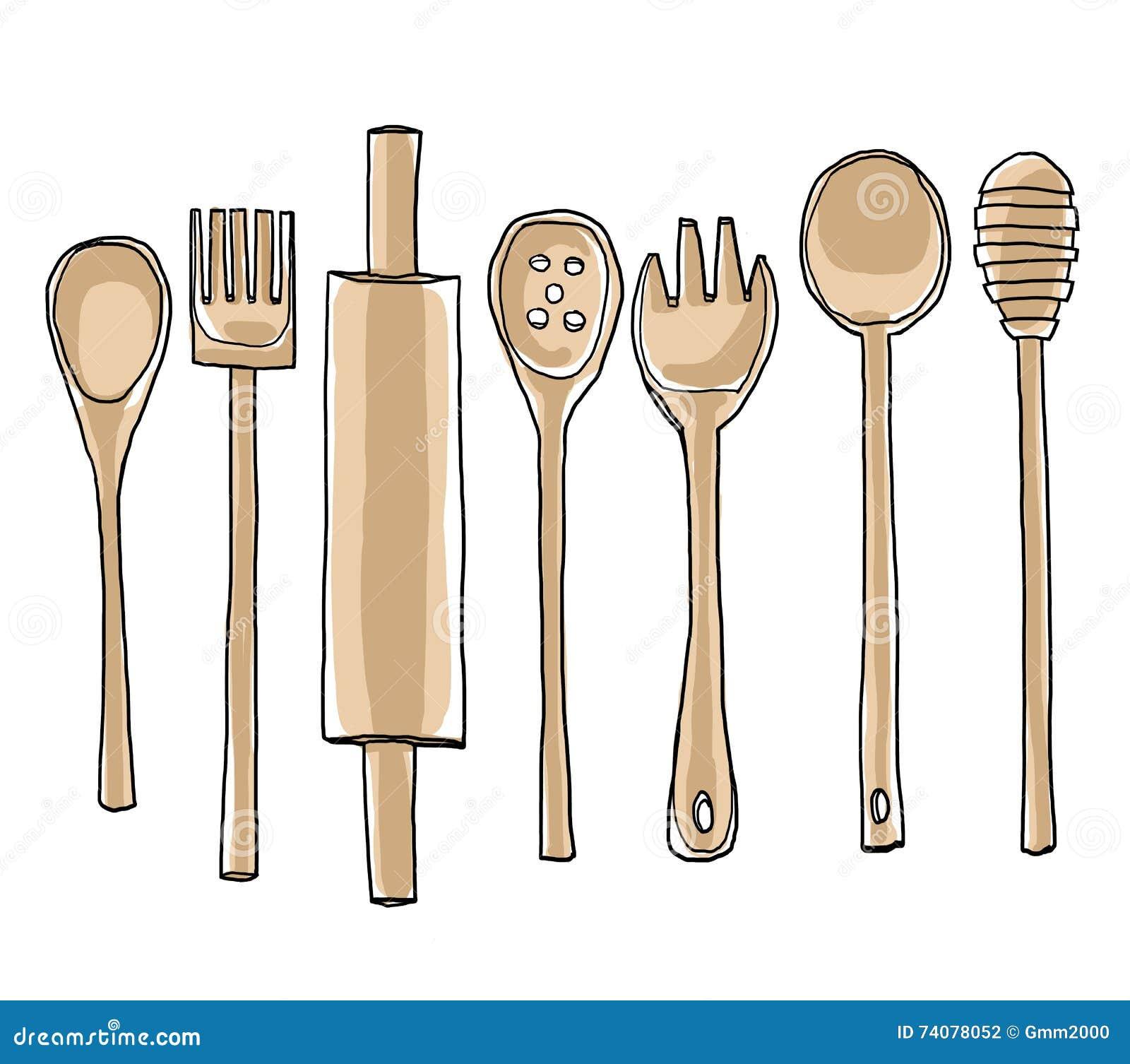 kitchen utensils art. Download Comp Kitchen Utensils Art C