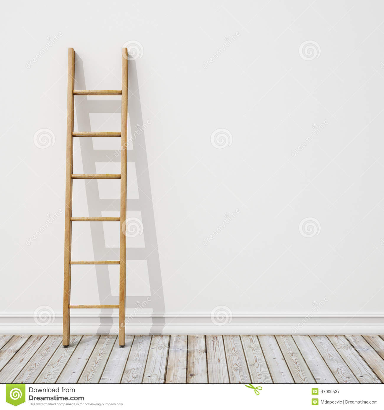 ladder on wall - photo #35
