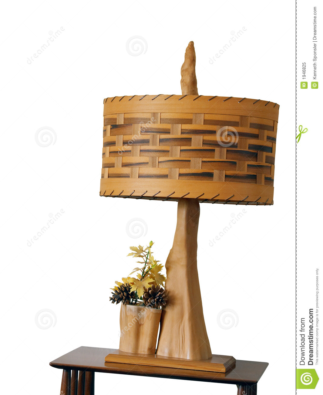Wooden Lamp Royalty Free Stock Photo Image 1946825