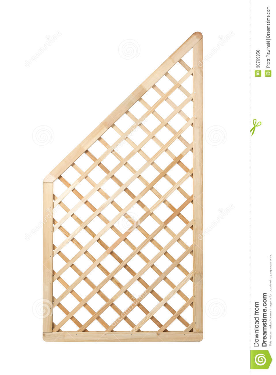 Wooden lattice fence royalty free stock photos image