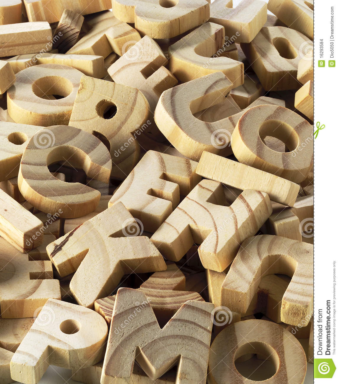Wooden Letters Stock Images Image 16293584