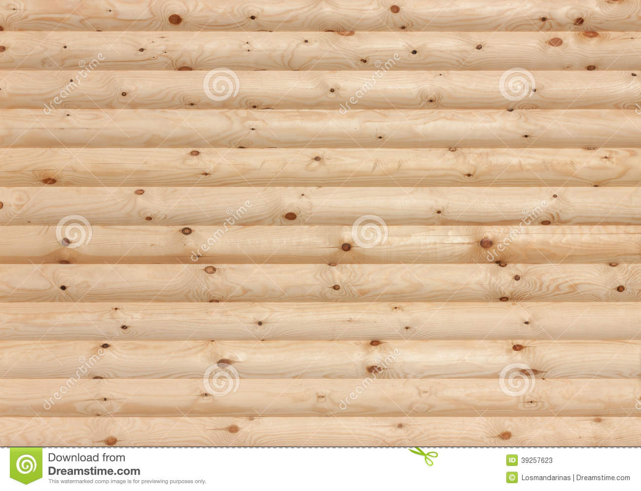 Log Wallpaper With The Texture Of Logs ~ Wooden logs wall background texture stock photo image
