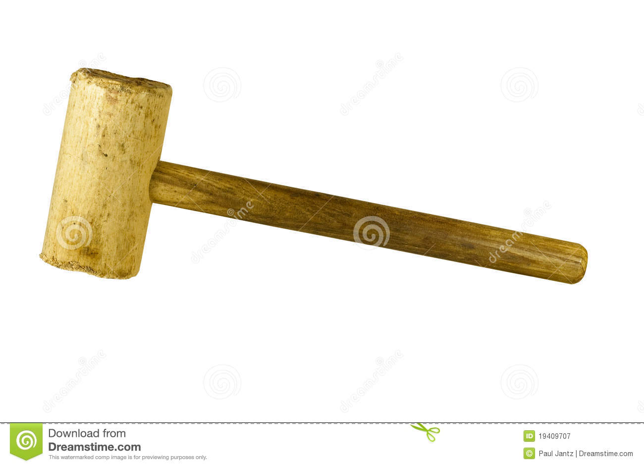 Wooden Mallet Royalty Free Stock Photography Image 19409707