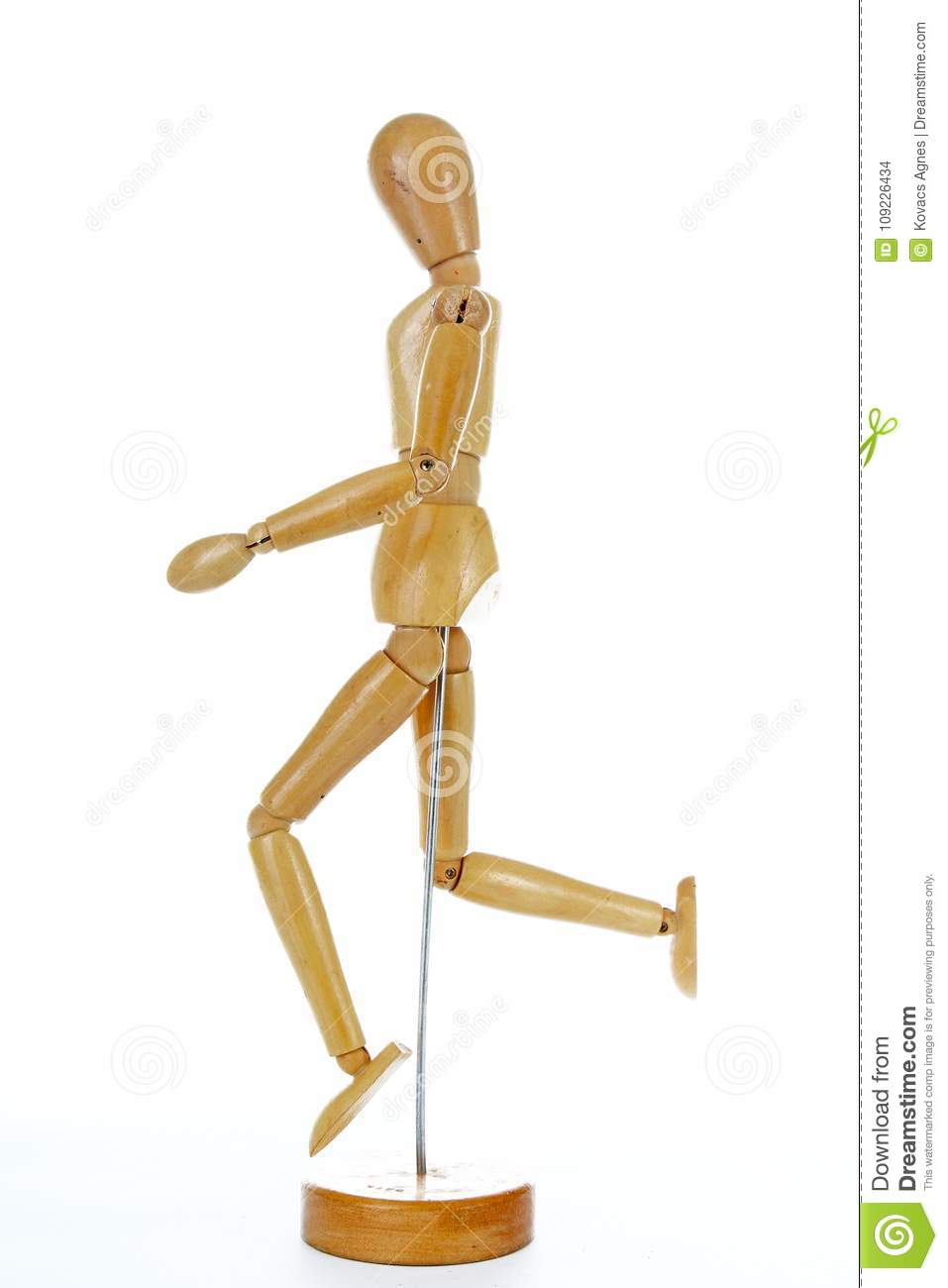 Wooden Mannequin Drawing Model Human Shape  Doll Body Figurine
