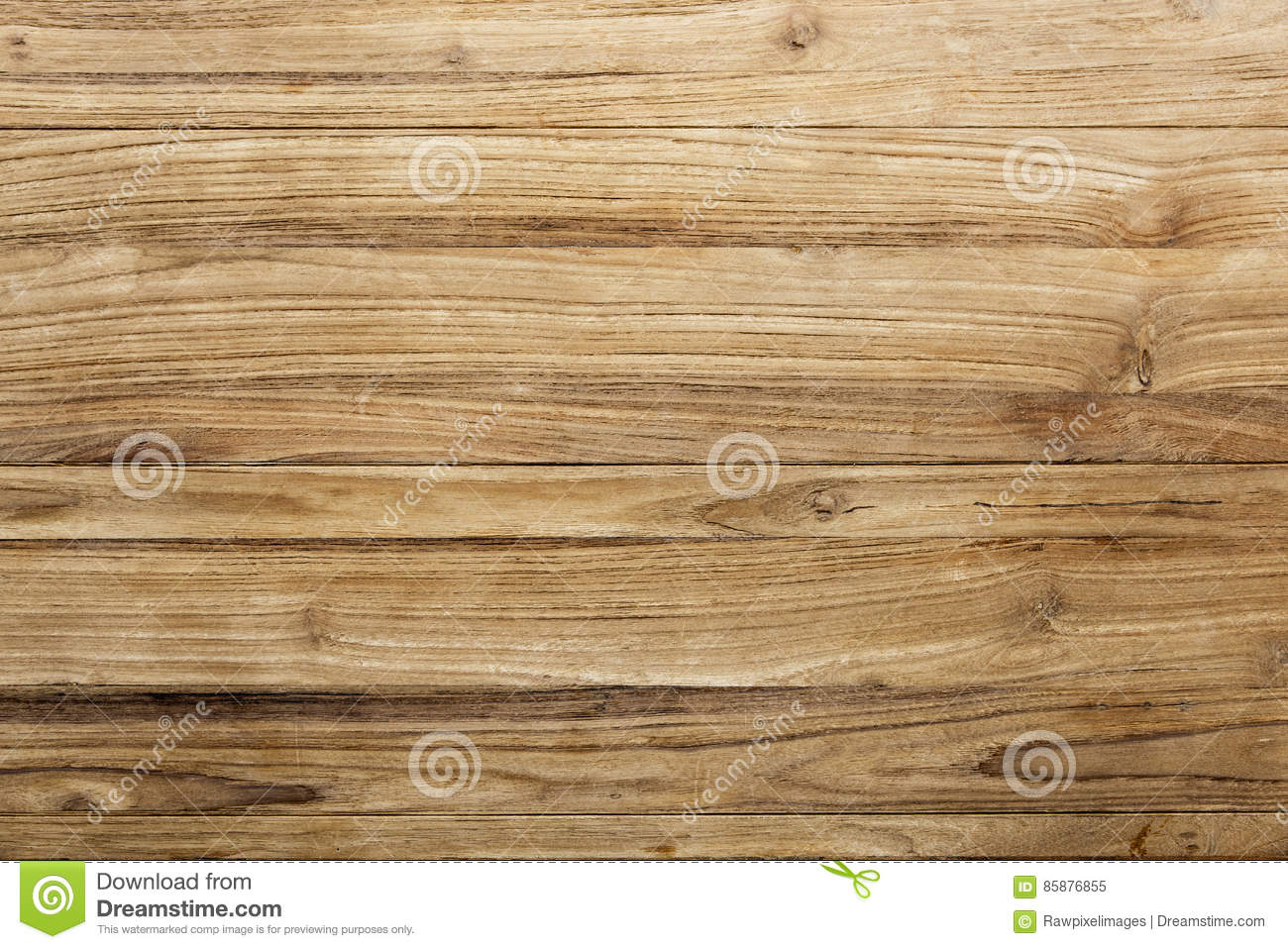 The Wooden Decoration And Floor Stock Photography
