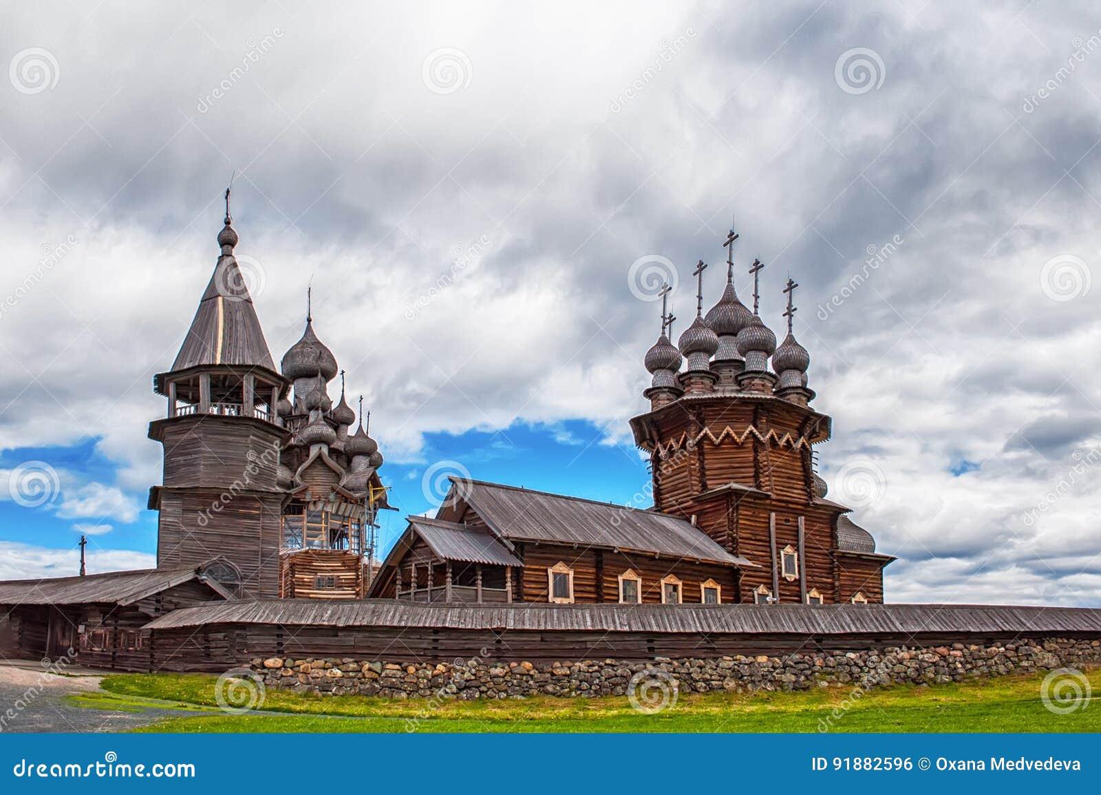 Wooden Orthodox Church of the Transfiguration on Kizhi island