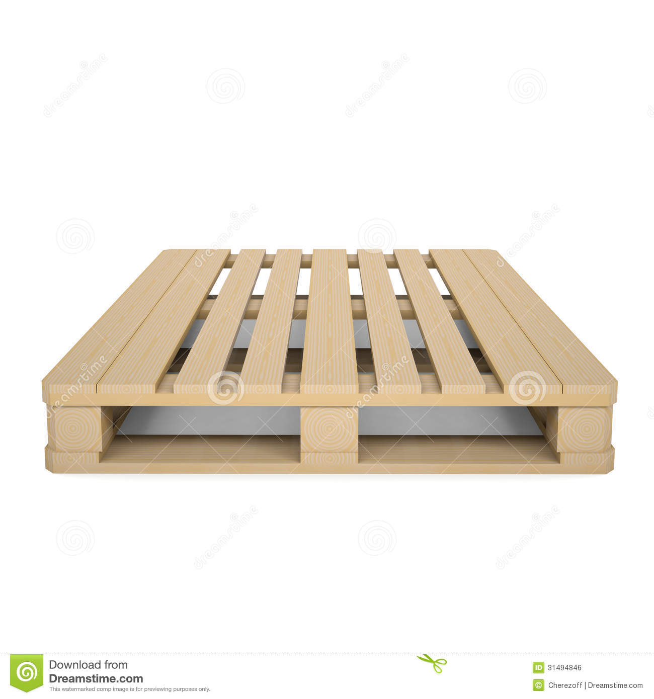 Wooden Pallet Royalty Free Stock Image - Image: 31494846