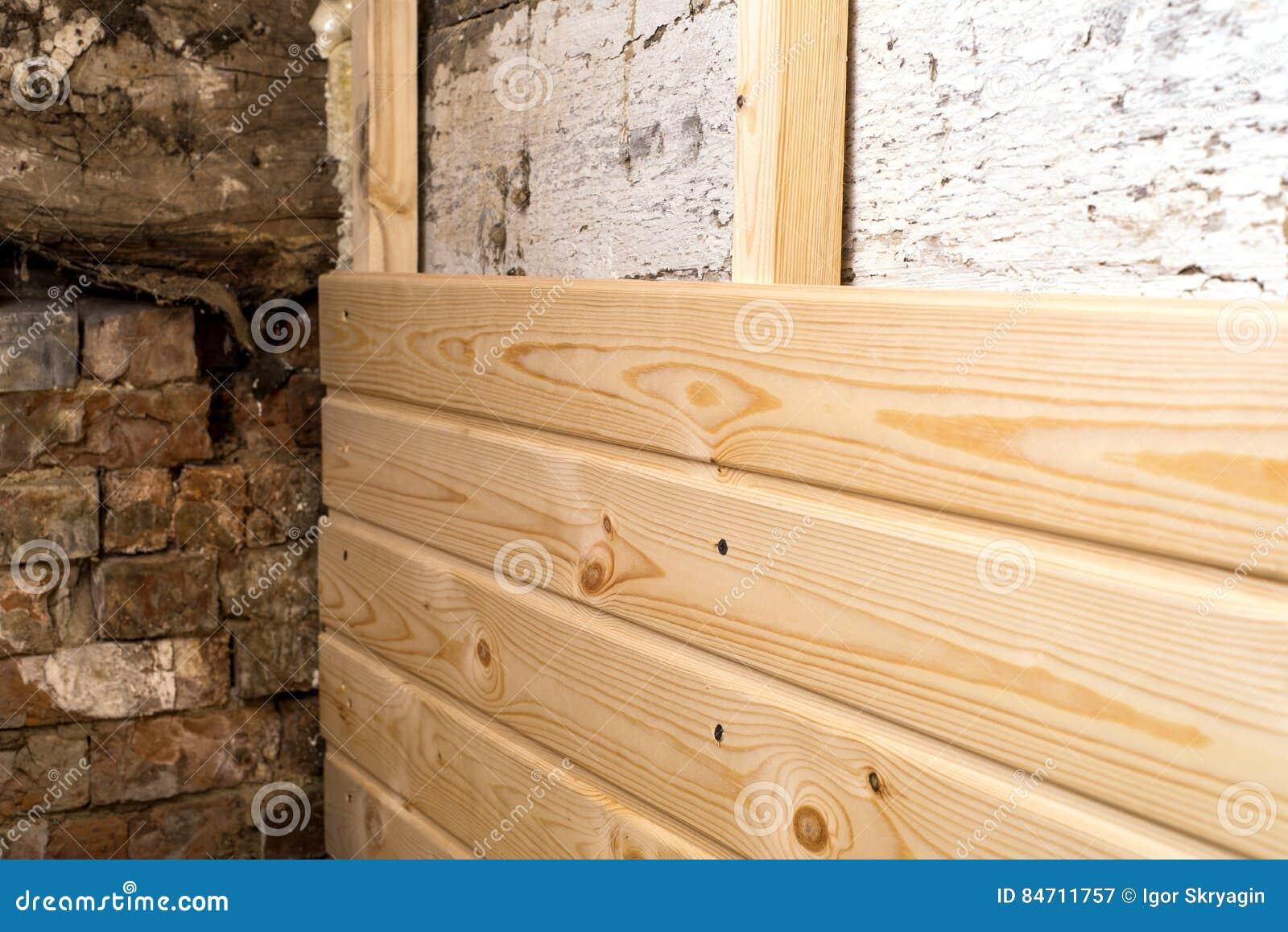 Wooden Panel Repair Stock Image 84711757