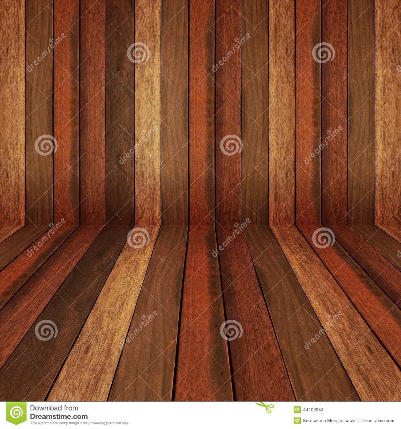 Superb img of Wooden Panel Wall And Floor Interior Background Stock Photo Image  with #A34D28 color and 1300x1390 pixels