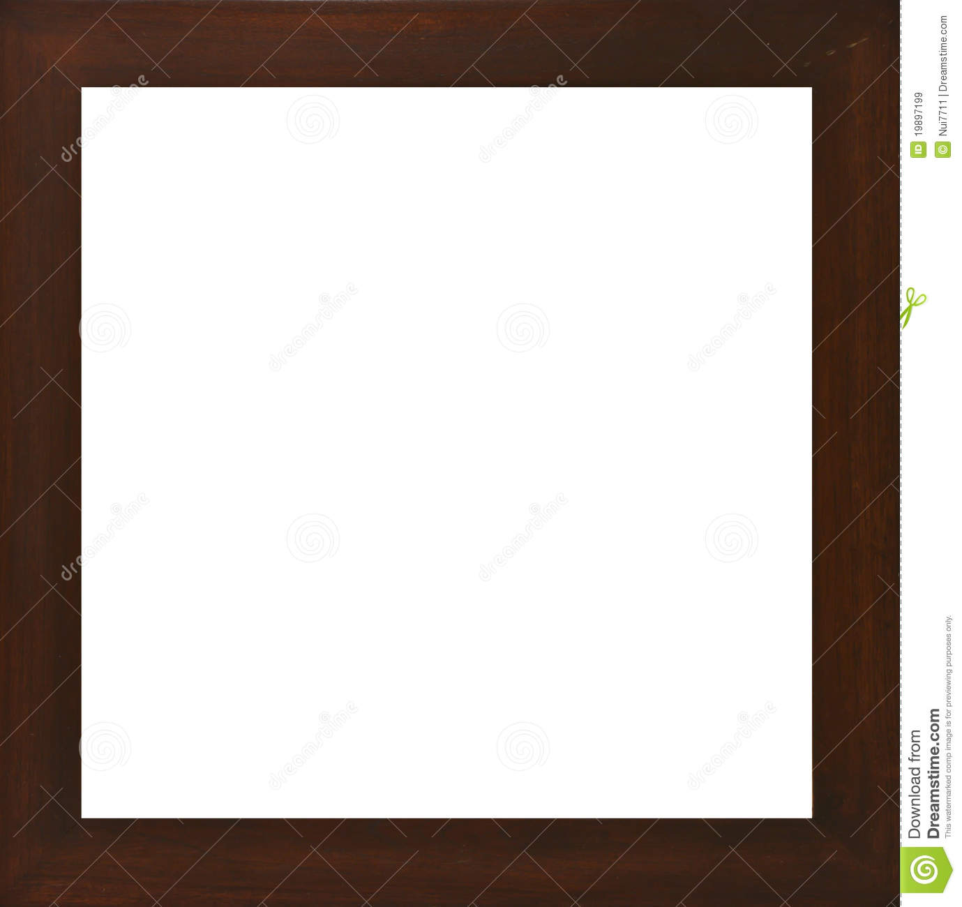 Wooden Photo Frame Royalty Free Stock Images Image 19897199