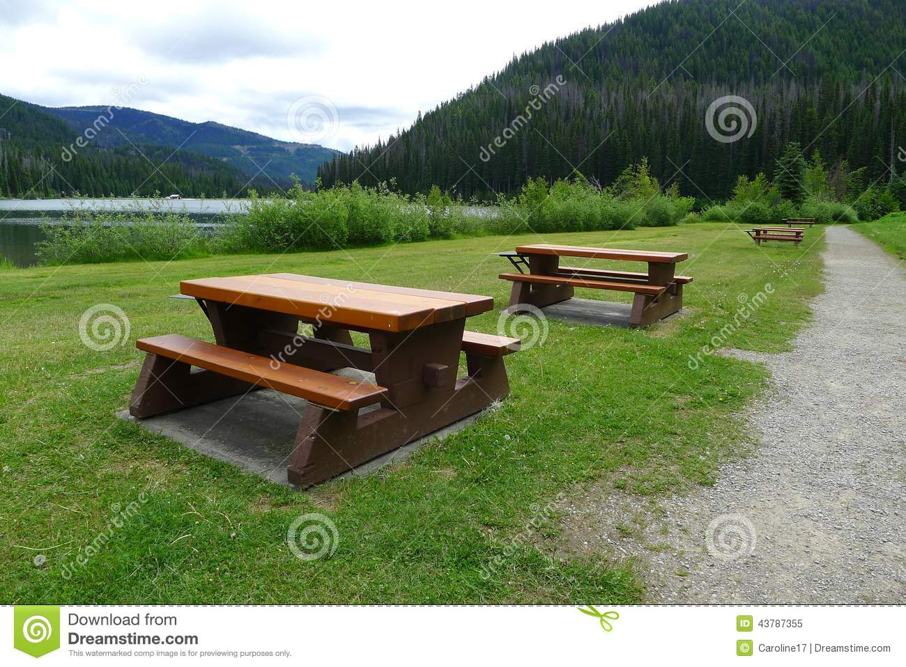 park picnic of bc provincial benches c picture e green image and was canada taken wooden rest tables stock manning photo table
