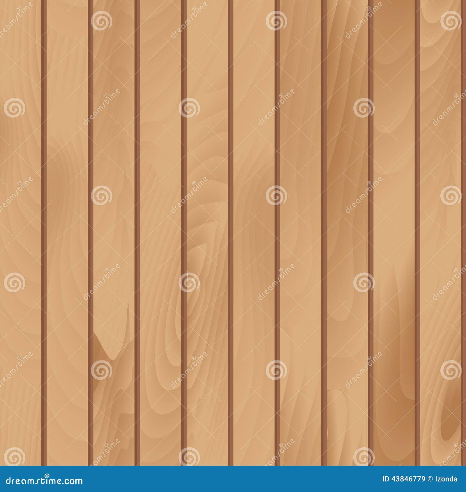 Wooden Plank Texture Vector Seamless Illustration Stock