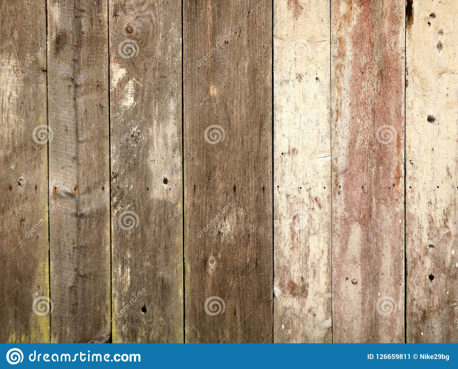 Wooden plank texture wall as a background