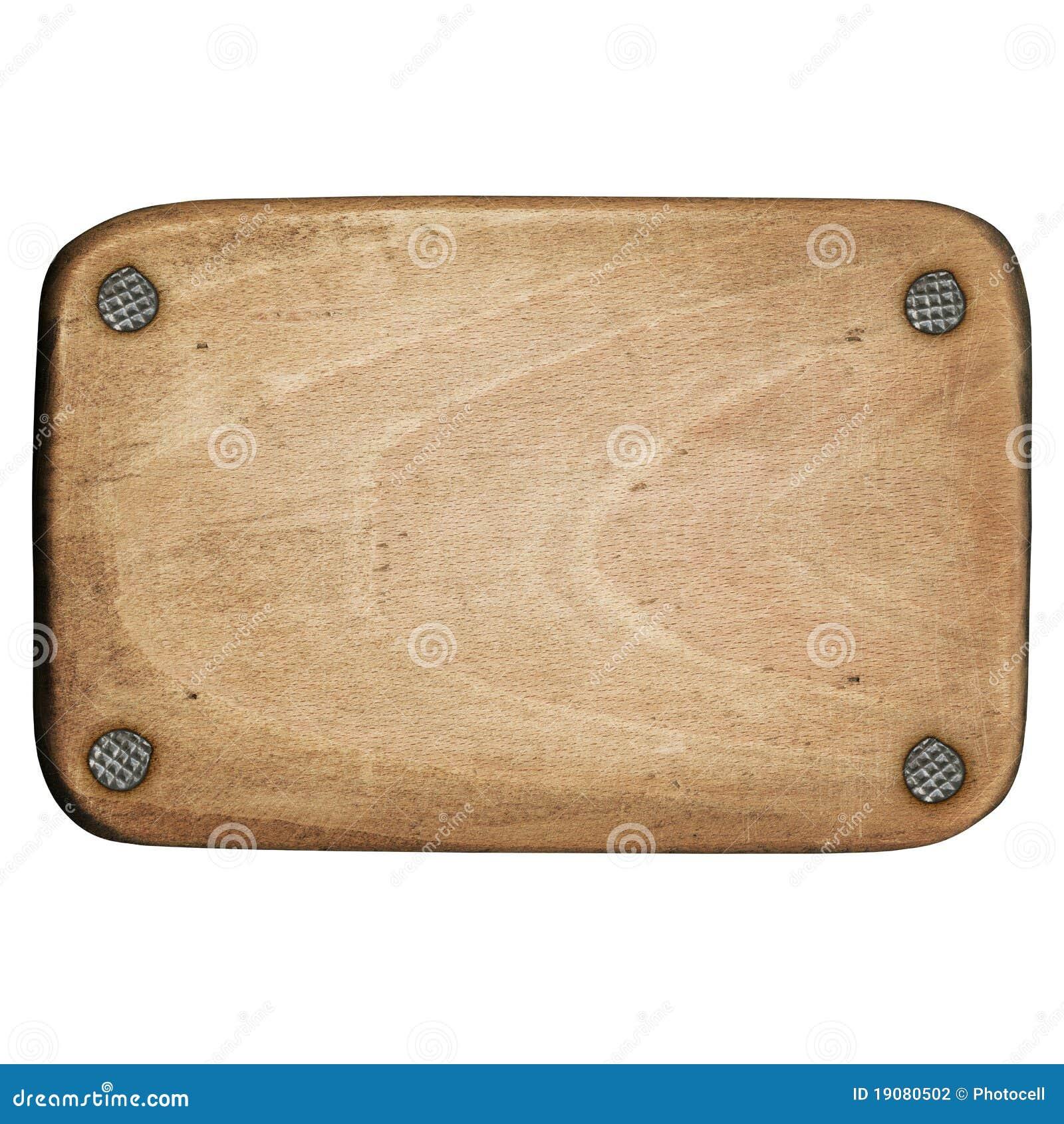 Wooden plaque stock photography image 19080502 - Placa de madera ...