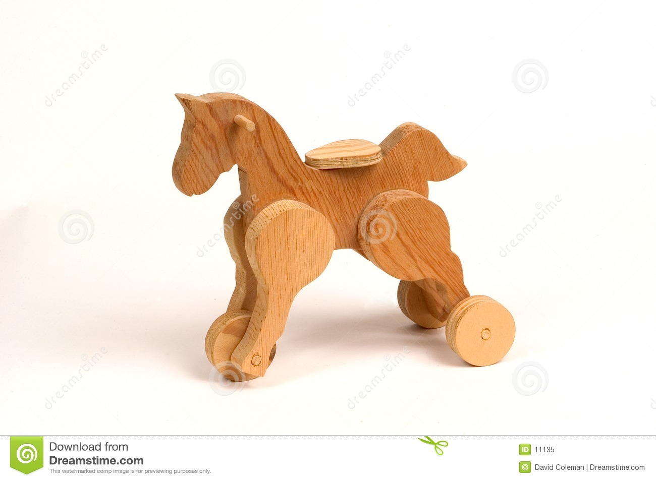 Wooden Pull Toy Royalty Free Stock Photo - Image: 11135