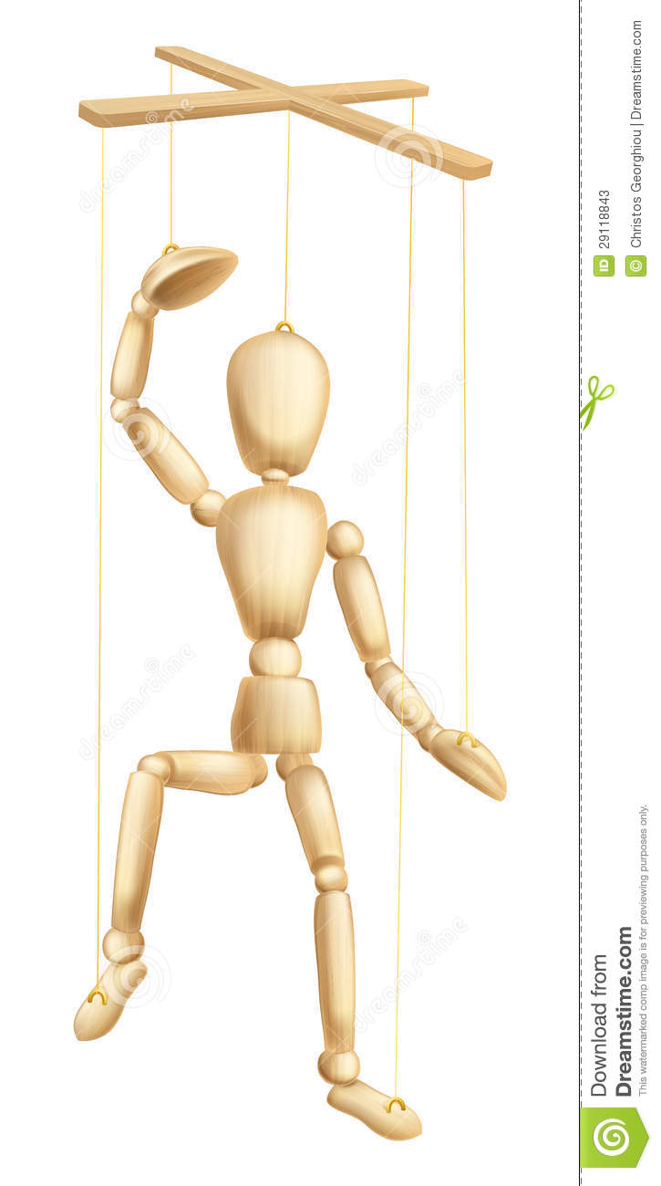 Wooden Puppet Stock Photos Image 29118843