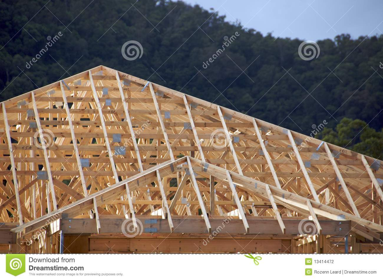 how to build roof frame australia