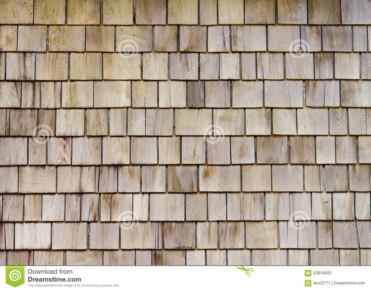Wooden Roof Stock Photo Image 53816505