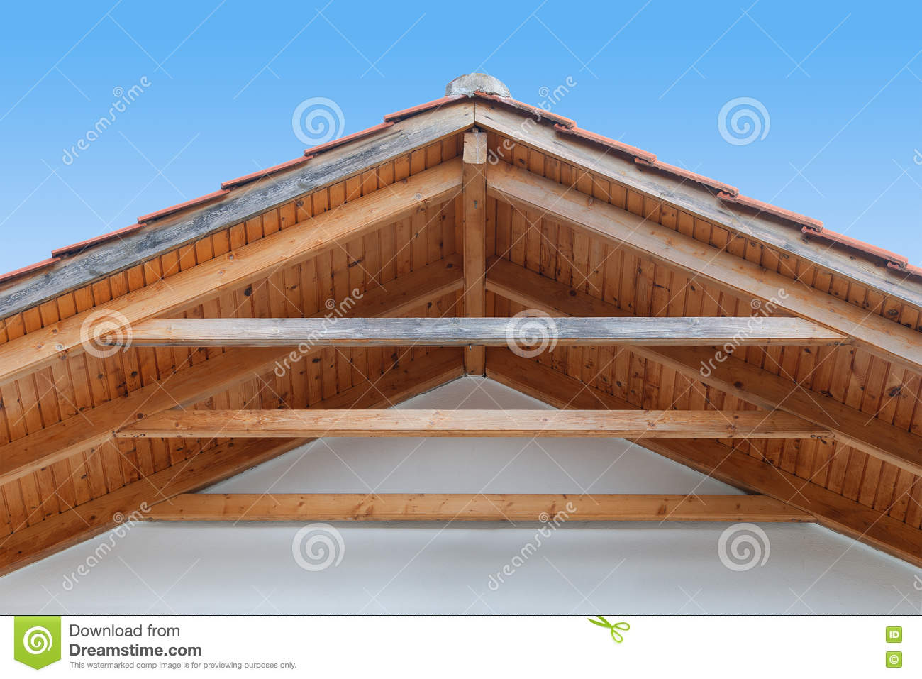 how to cut rafters for a gable roof