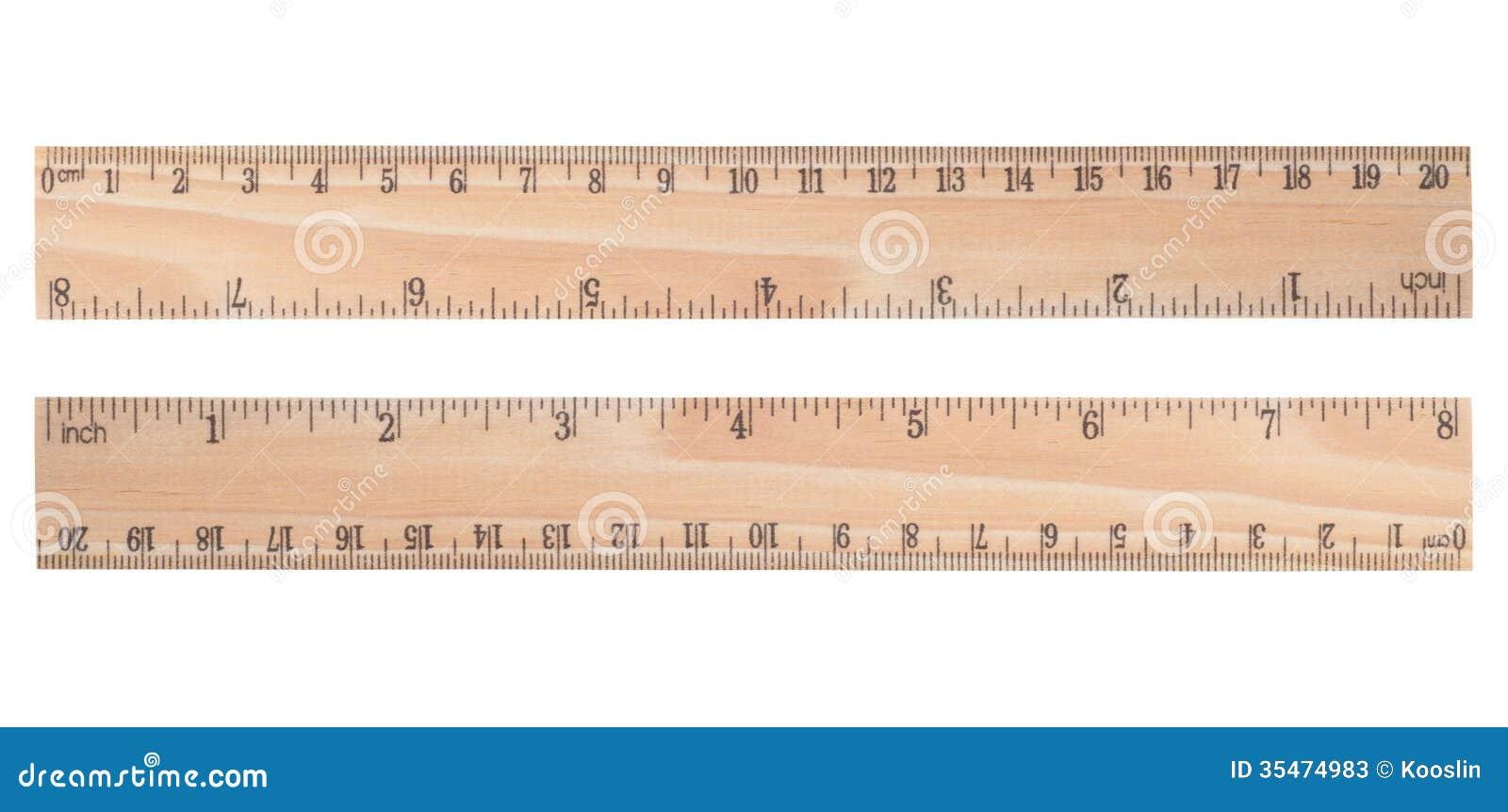 wooden ruler stock image image of centimeter millimeter
