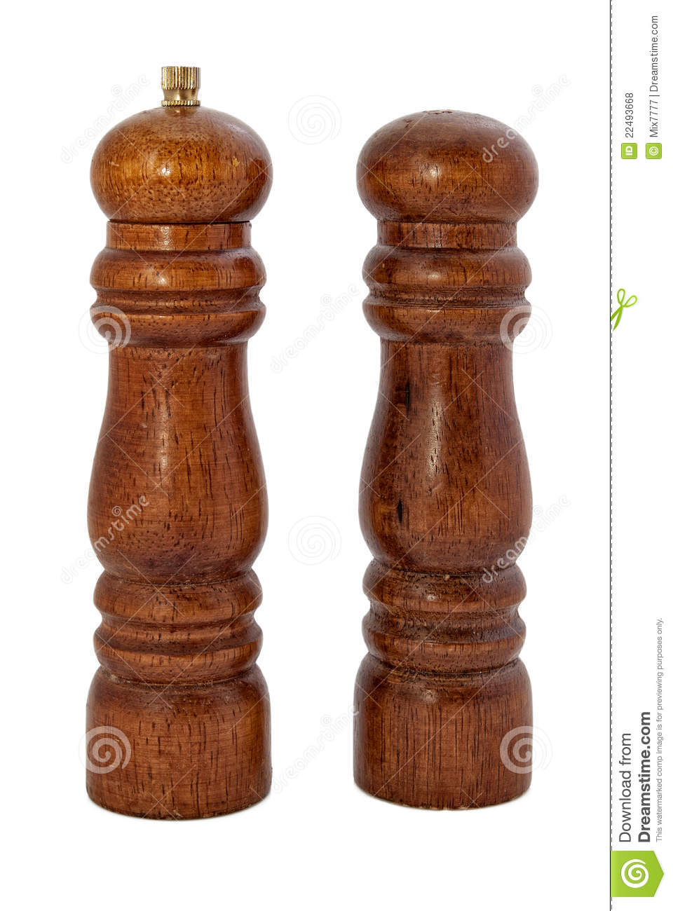 Wooden salt shaker and pepper royalty free stock photos for Pepper mill plans