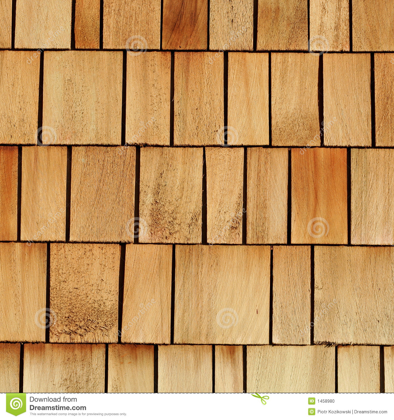 Wooden Shingles Stock Photo Image Of Grain Natural Gray