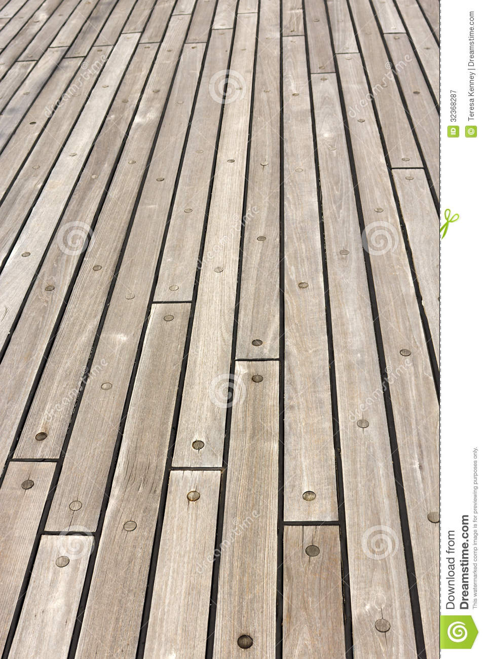 Wooden Ship Deck stock image. Image of constructed ...