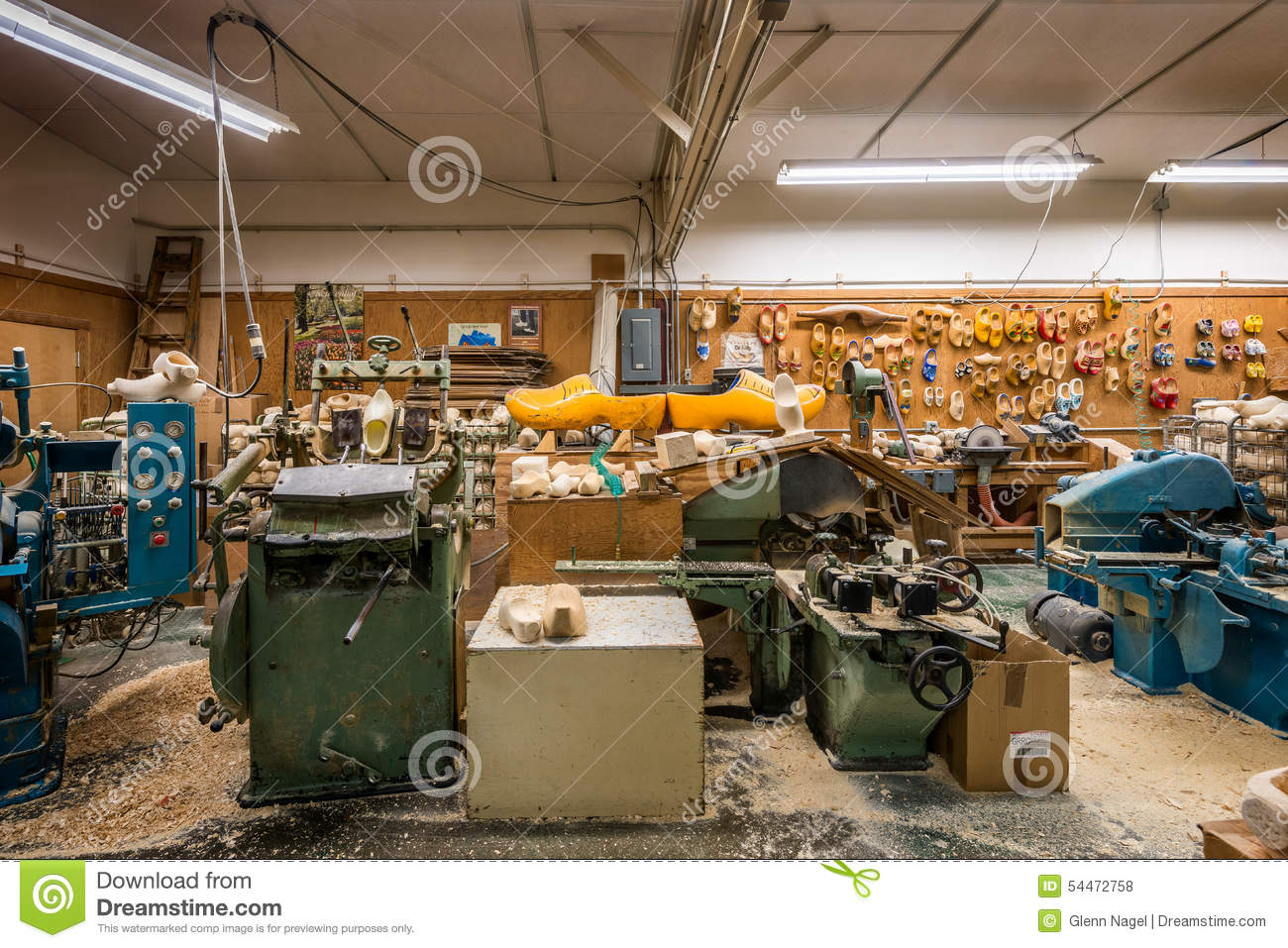 Wooden Shoe Factory Editorial Stock Photo Image Of Store 54472758