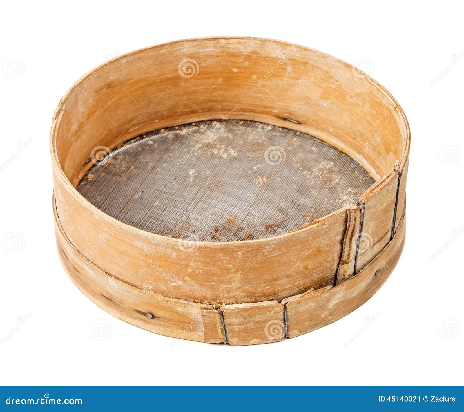 Wooden Sieve Stock Photography Cartoondealer Com 32951282