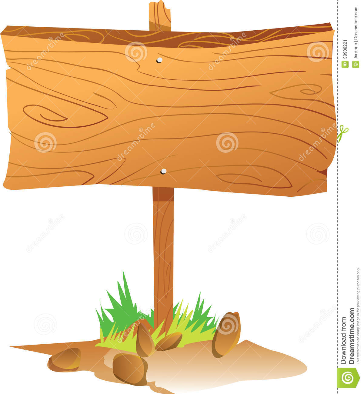 Wooden Sign Board Stock Illustration Illustration Of Direction
