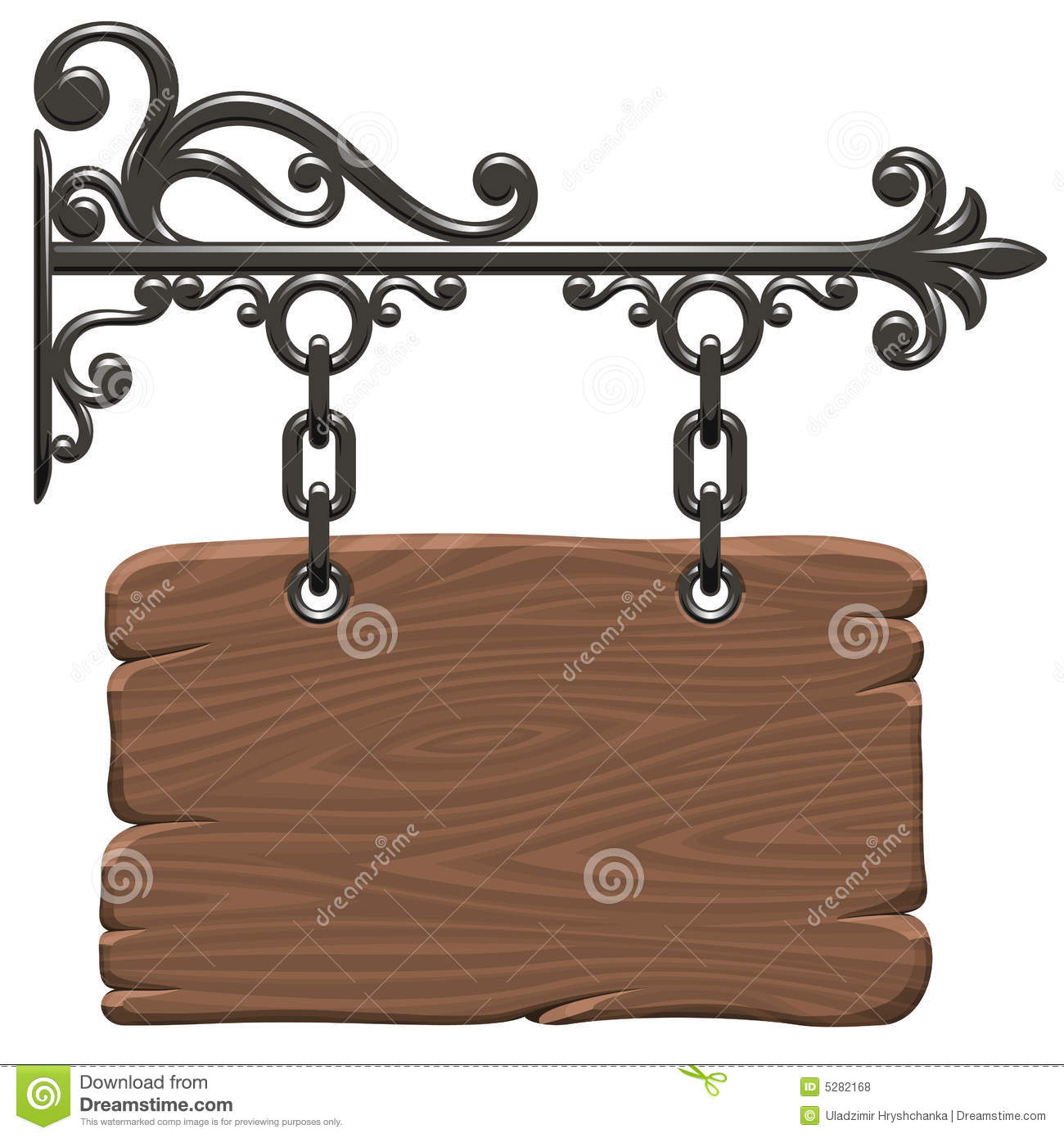 Wooden Signboard Royalty Free Stock Photos - Image: 5282168