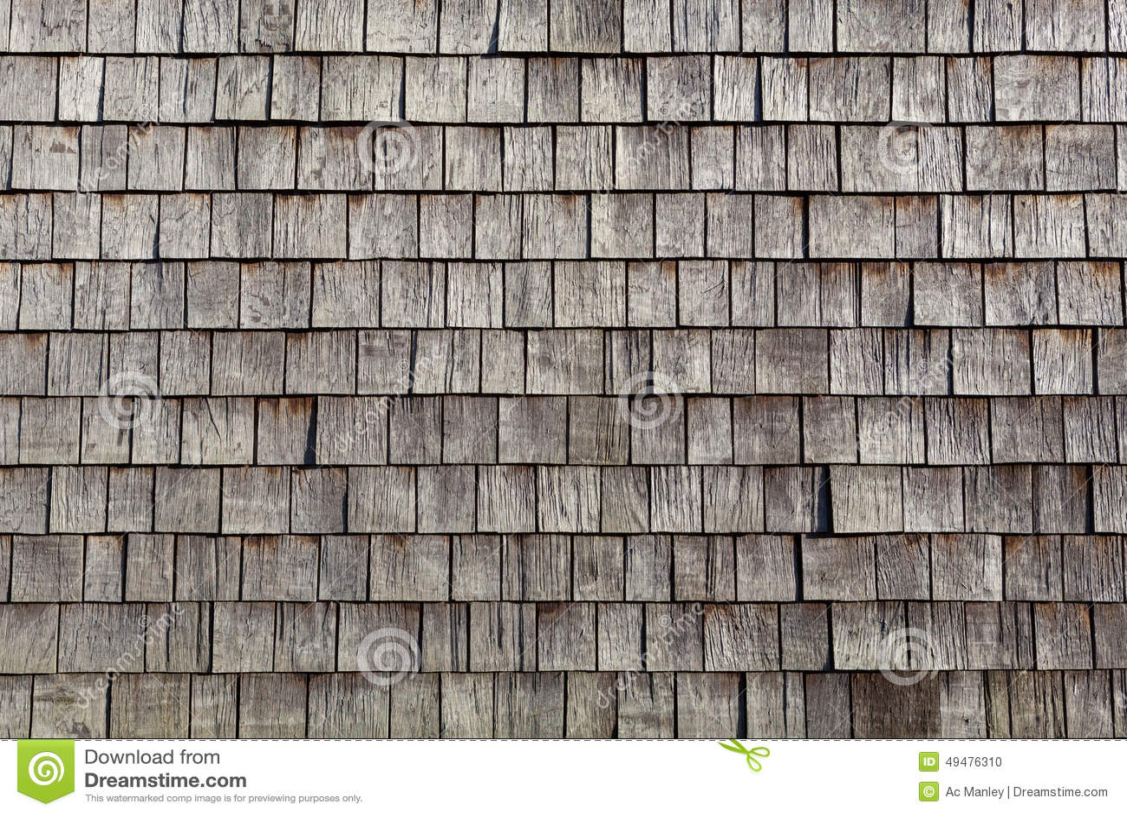 Wooden Single Tiles Stock Photo - Image: 49476310