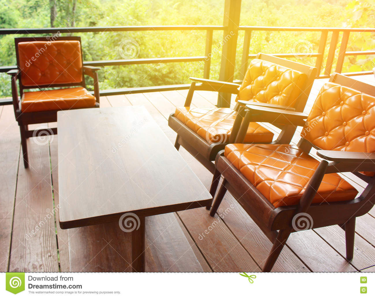 leather and wood sofa. Wooden Sofa With Leather Seat Stock Photo - Image Of Cafe, Interior: 74599034 And Wood