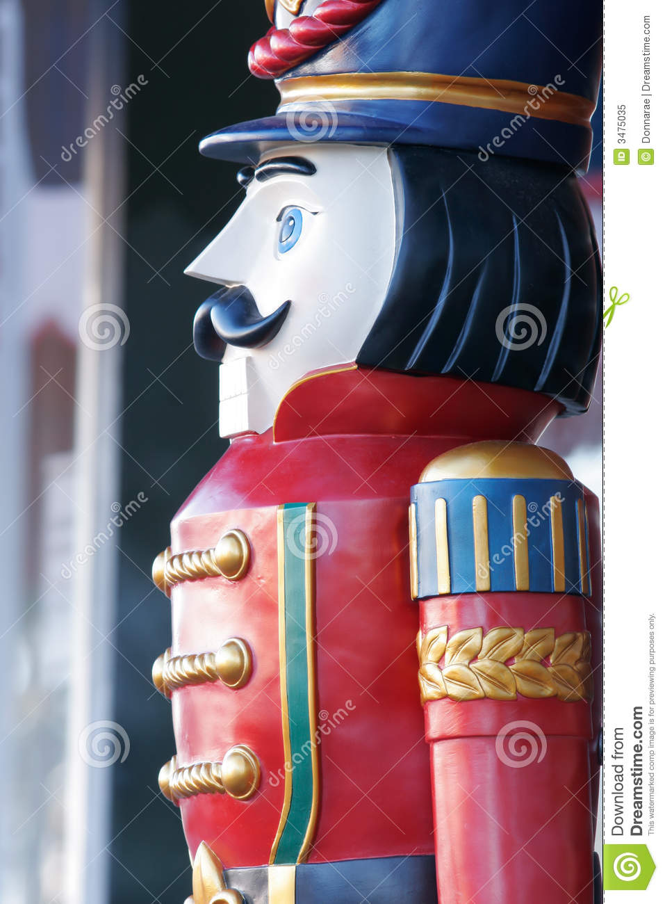 wooden soldier detail - Christmas Decorations Wooden Soldiers