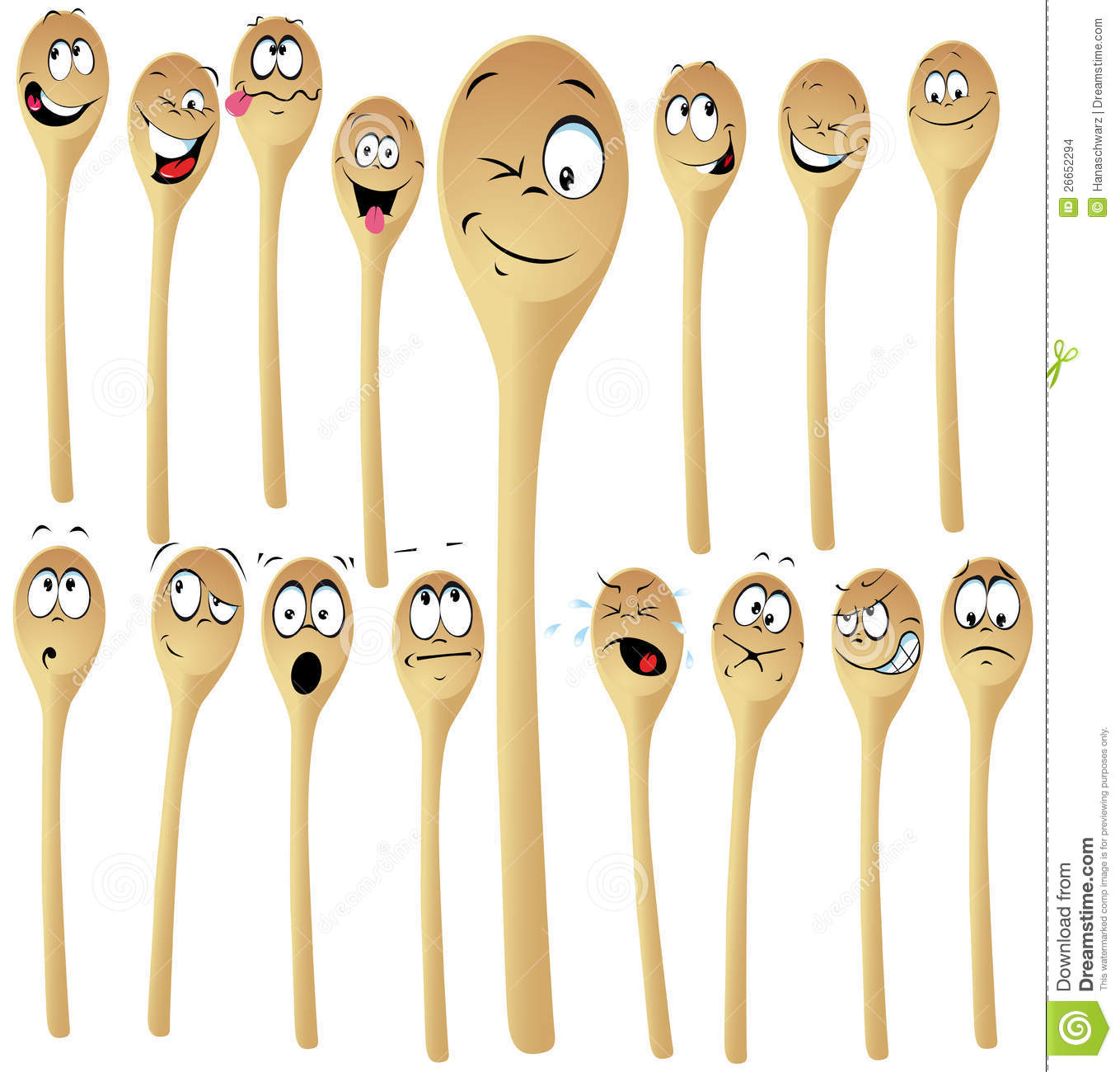 More similar stock images of ` Wooden spoon cartoon `