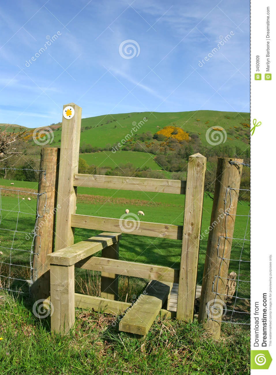 Wooden Stile Royalty Free Stock Images Image 3450909