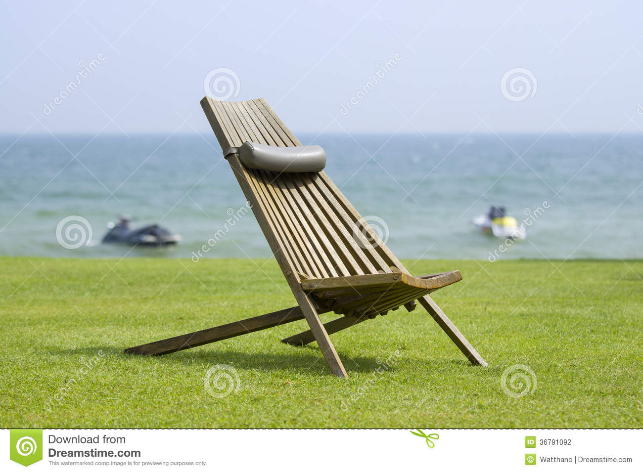 wooden sun loungers stock photography image 36791092. Black Bedroom Furniture Sets. Home Design Ideas
