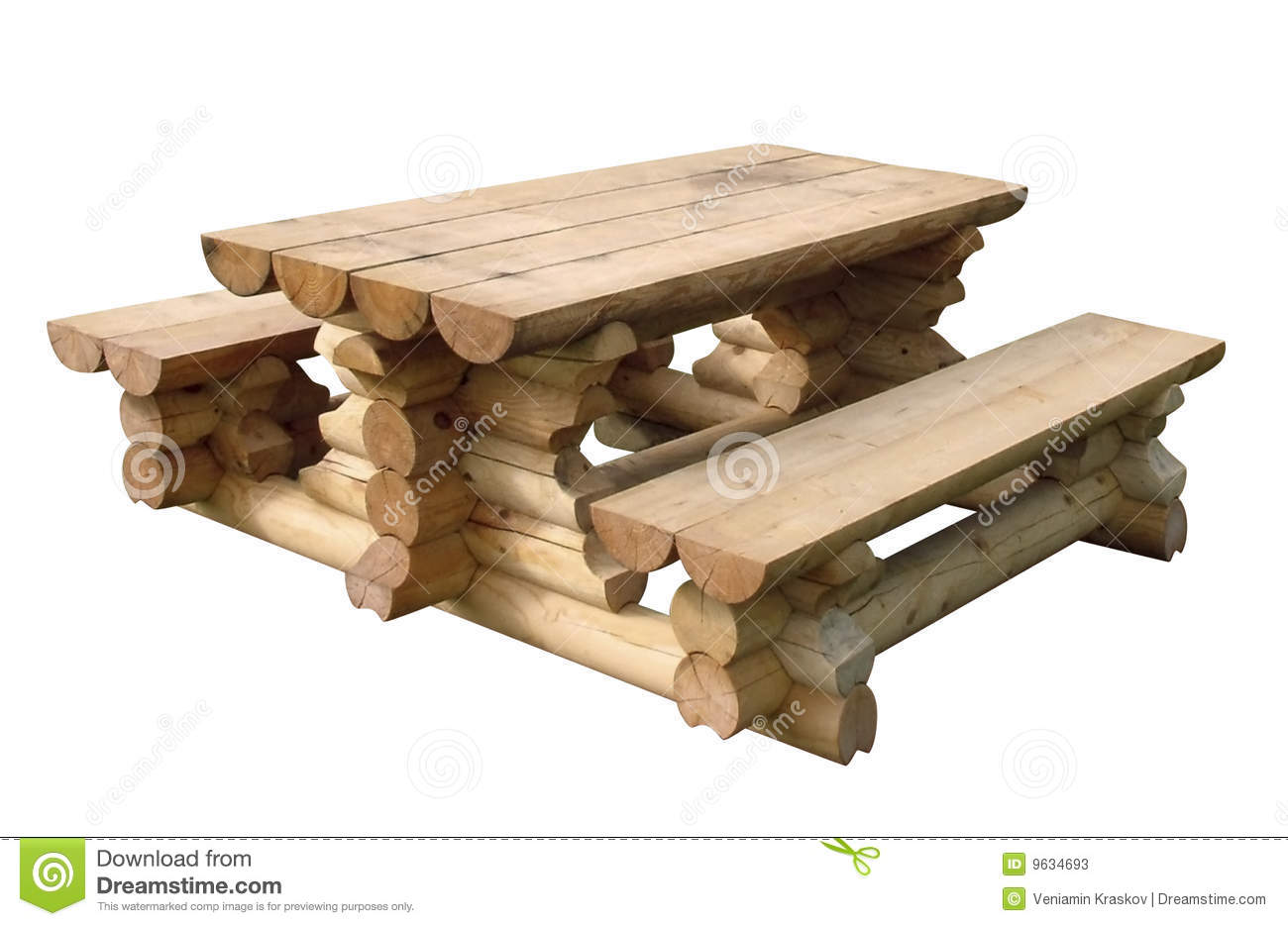 Wooden Table Stock Photos - Image: 9634693