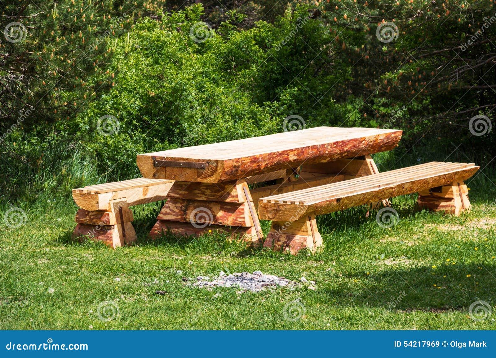 Как сделать стол лавки на дачи